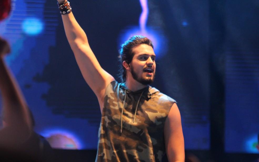 Luan Santana se apresenta em Votorantim no dia 10 de junho  (Foto: Tiago Caldas /Ag Haack)