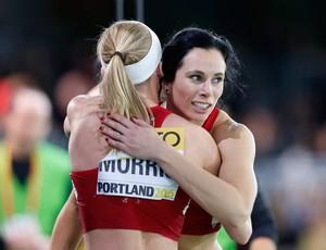 atletismo Jennifer Suhr Sandi Morris (Foto: Getty Images)