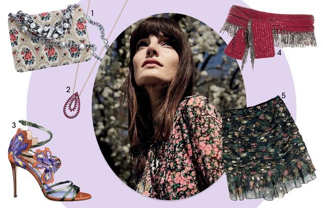 Buquê Miúdo (Foto:  Nyra Lang/arquivo Vogue, Imaxtree e Rafael Evangelista (Stills) Produção De Moda: Cristiano Oiwane e Neel Ciconello)