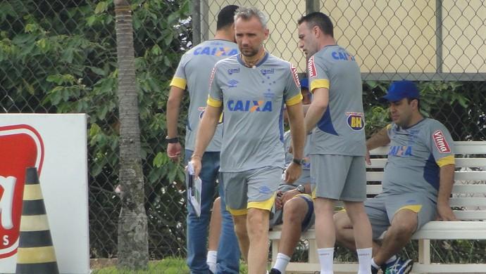 Ricardo Peres Cruzeiro comissão técnica (Foto: Gabriel Duarte)