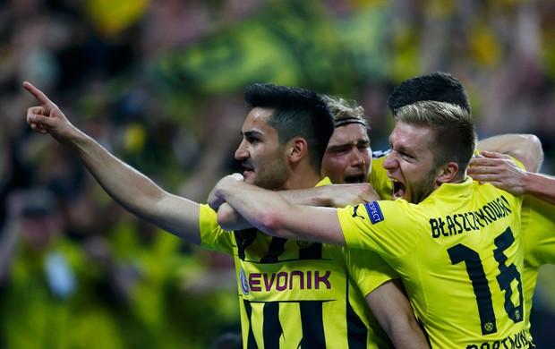 Guendogan gol borussia Dortmund (Foto: Reuters)