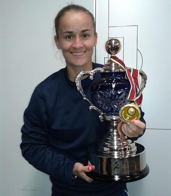 Gislaine zagueira São José futebol feminino (Foto: Arquivo pessoal)