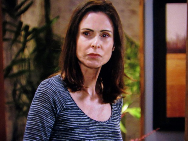 Úrsula confessa a Ricardo que não está doente (Foto: TV Globo)