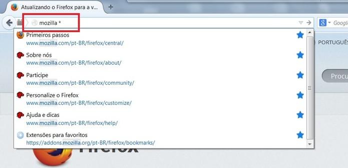 Confira sete dicas para agilizar suas buscas no Firefox (Foto: Reprodução/Juliana Pixinine)