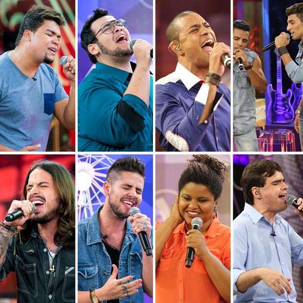 As oito vozes que passaram na primeira noite de Tira-teima  (Foto: Isabella Pinheiro/Gshow)
