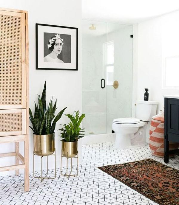 Banheiros ao estilo espanhol (Foto: Reprodução / Pinterest)