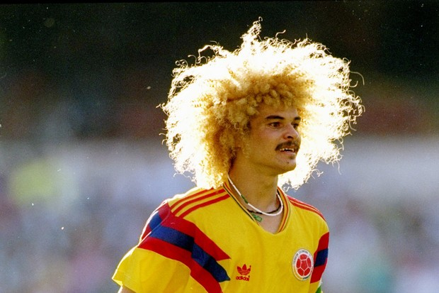 Carlos Valderrama 1990 (Foto: Getty Images)