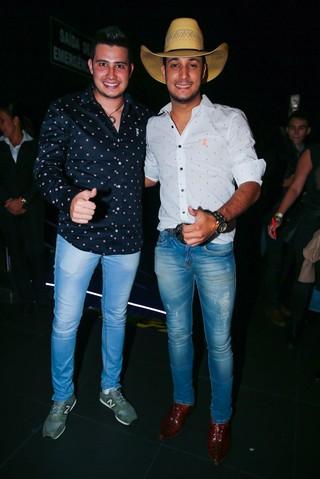 Bruno e Barreto (Foto: Manuela Scarpa/Photo Rio News)