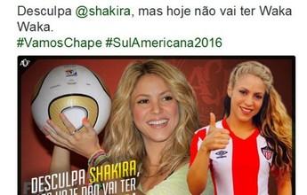 """""""Sem Waka Waka"""": Chape elimina o Junior e faz brincadeira com Shakira"""