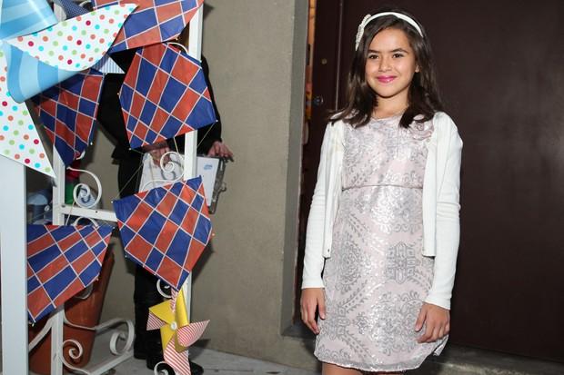 Maísa no aniversário de Arthur, filho de Eliana (Foto: Manuela Scarpa e Marcos Ribas / Foto Rio News)