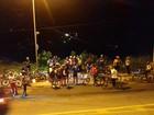 Ato que denuncia morte de ciclista cobra respeito no trânsito em Maceió