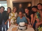 Pezão comemora aniversário com a família em hospital do Rio