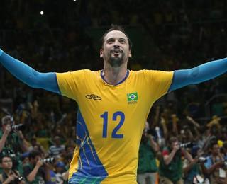 Lipe final Brasil x Itália vôlei rio 2016 (Foto: Divulgação FIVB)