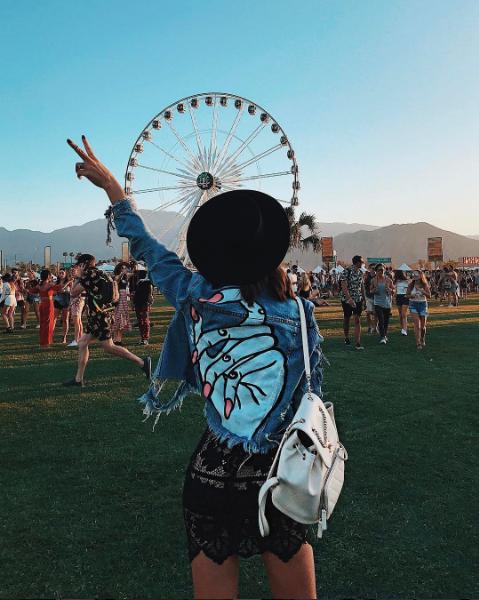 Coachella 2017 (Foto:  Reprodução/Instagram @camilacoelho)