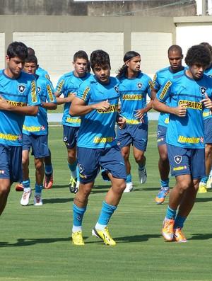 treino do Botafogo (Foto: Vicente Seda)