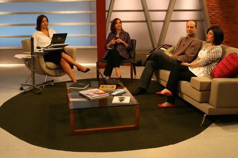 """""""Estúdio i"""", apresentado por Maria Beltrão na Globo News (Foto: Divulgação)"""