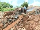 No AP, três morrem soterrados após deslizamento de terra em garimpo