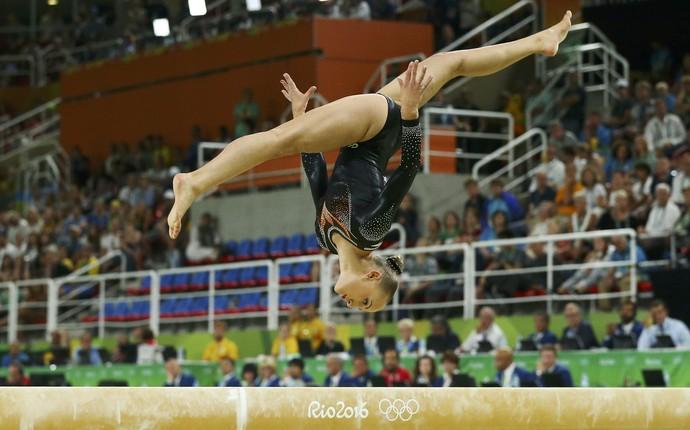 Sanne Wevers holandesa ginástica artística (Foto: REUTERS/Ruben Sprich)