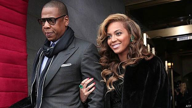 Jay-Z e Beyoncé aderiram à dieta vegana por apenas 22 dias (Foto: AFP/BBC)