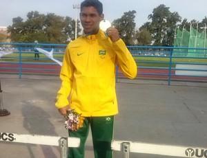 Mateus Evangelista, medalha de ouro (Foto: Mateus Evangelista / Facebook)