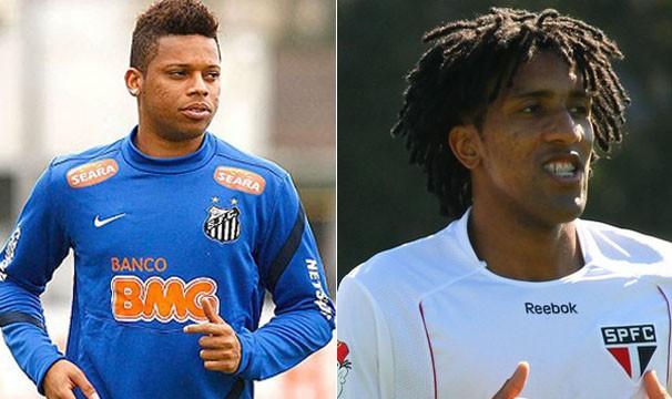 Jogadores (Foto: Ricardo Saibun / Divulgação Santos FC/ Luiz Pires / VIPCOMM)