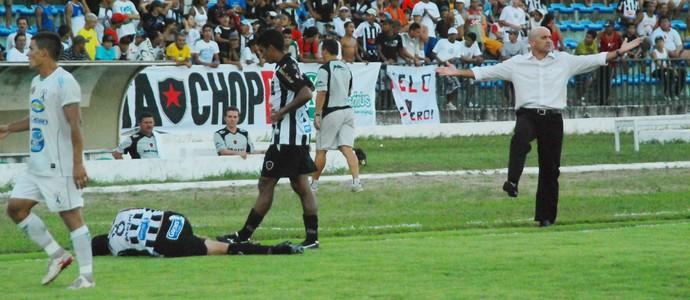 Itamar Schulle, Schülle, Schulle, Botafogo-PB (Foto: Felipe Gesteira / Jornal da Paraíba)