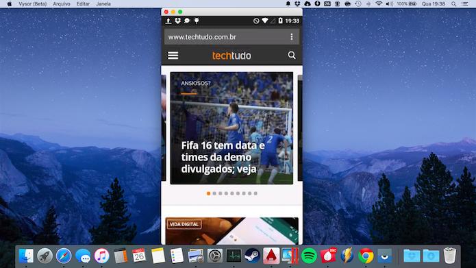 Aprenda a espelhar a tela do Android no computador (Foto: Reprodução/Helito Bijora)