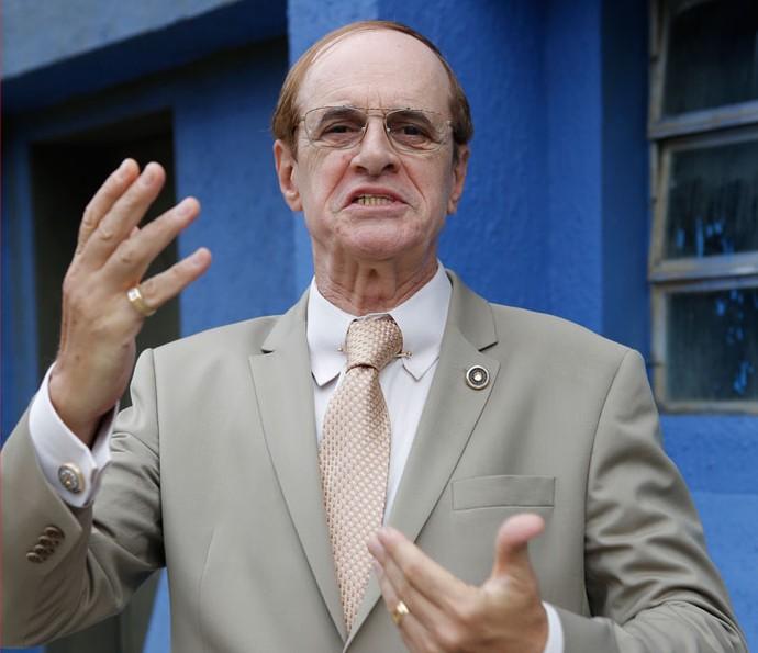 Marcos Caruso viverá deputado Moacir em 'Chapa Quente' (Foto: Pedro Carrilho/ Gshow)
