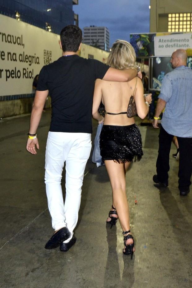 Enzo Celulari e Veridiana Freitas (Foto: Leo Marinho/ Ag. News)
