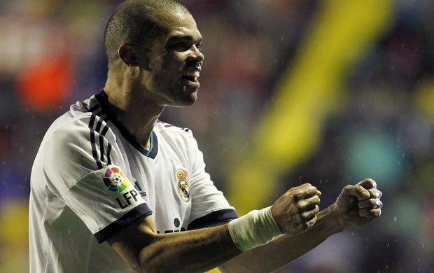 Pepe real madrid e levante (Foto: Agência Getty Images)
