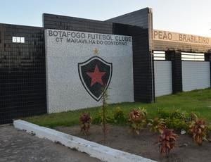 Centro de Treinamento da Maravilha do Contorno, Botafogo-PB (Foto: Amauri Aquino / Globoesporte.com/pb)