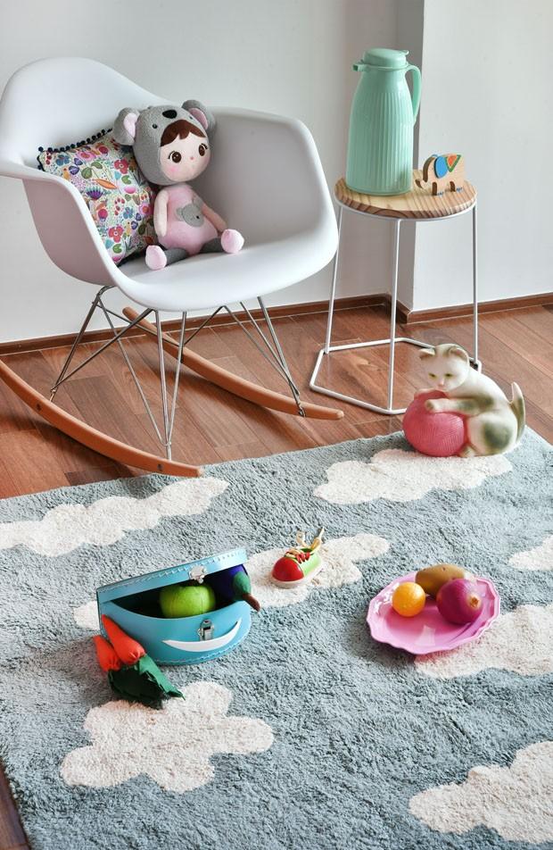 Décor do dia: quarto infantil em tons rosa e verde bebê (Foto: Divulgação)