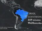 Pesquisa revela que quase metade da população brasileira é sedentária