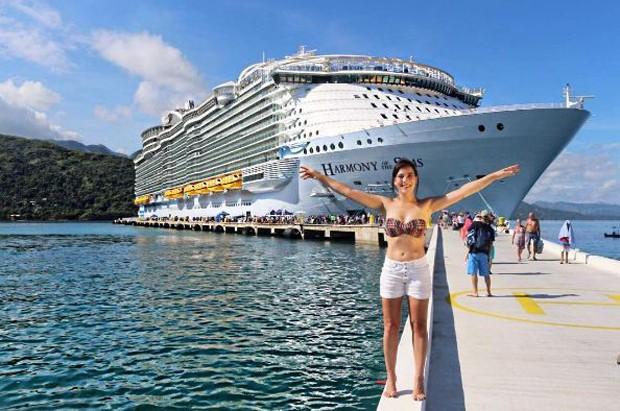 Adriana Birolli em cruzeiro pelo Caribe (Foto: Reprodução/Instagram)