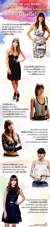 estilo gisele (Foto: Em Família/TV Globo)