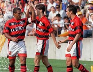 Romario Sávio Edmundo Flamengo (Foto: Divulgação)