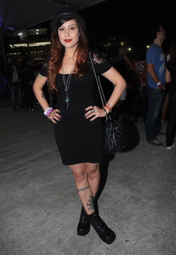 A cantora Pitty  (Foto: Celso Tavares/Ego)