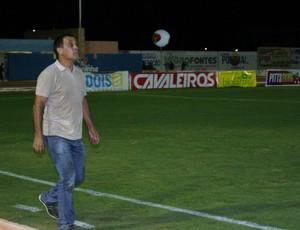 Celso Teixeira, técnico do Potiguar de Mossoró (Foto: Augusto Gomes)