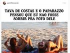 Fernanda Gentil usa foto de flagra para brincar com meme: 'Logo eu...'