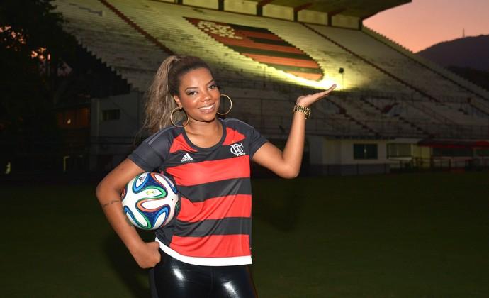 Ludmilla Flamengo entrevista (Foto: André Durão)