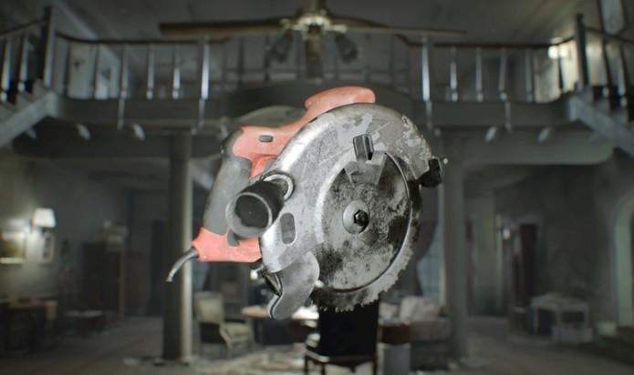 Serra circular pode ser de grande ajuda na dificuldade mais alta de Resident Evil 7 (Foto: Reprodução/Felipe Demartini)