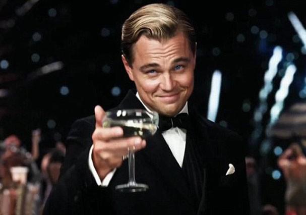 """Leonardo diCaprio em cena de """"O Grande Gatsby"""" (Foto: Reprodução)"""