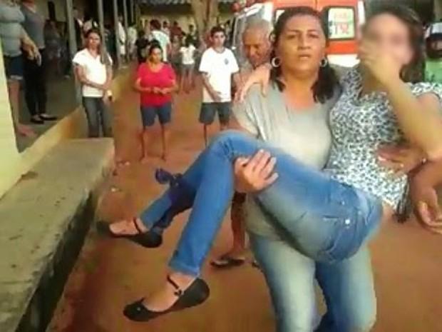 Menina de 13 levou tiro na perna direita e não corre risco de morte em Mossoró (Foto: José Nílson Ferreira/Passando na Hora)