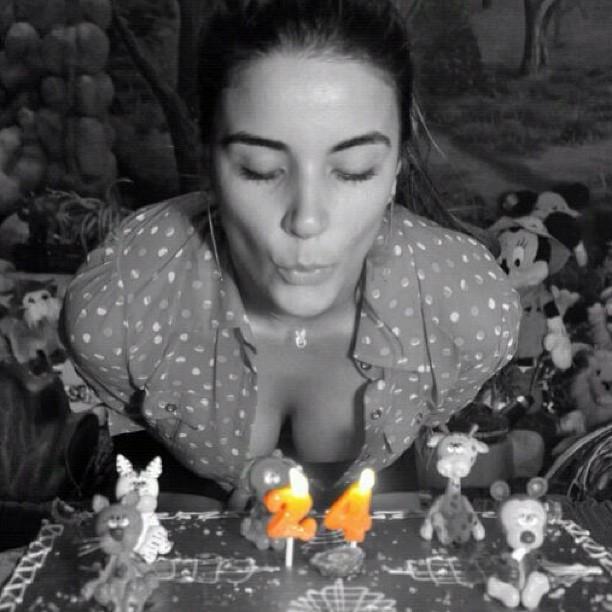 Ela completou 24 anos nesta quarta-feira, 26 (Foto: Instagram/Reprodução)