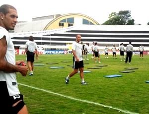 Paulinho, atacante do XV de Piracicaba (Foto: Bernardo Medeiros / Globoesporte.com)