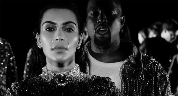 Kim Kardashian e Kanye West (Foto: Reprodução /  YouTube)