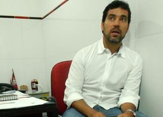João Paulo, coordenador de futebol do Vitória (Foto: Thiago Pereira)