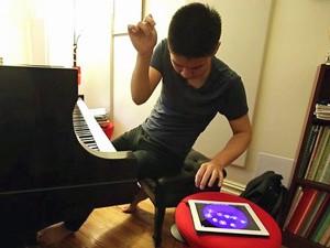 O pianista Conrad Tao  (Foto: BBC)