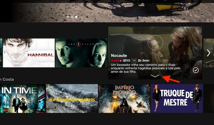 Acessando detalhes de um título do Netflix (Foto: Reprodução/Marvin Costa)