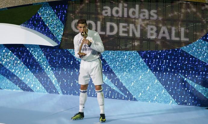 Cristiano Ronaldo premiação Mundial de Clubes (Foto: Reuters)